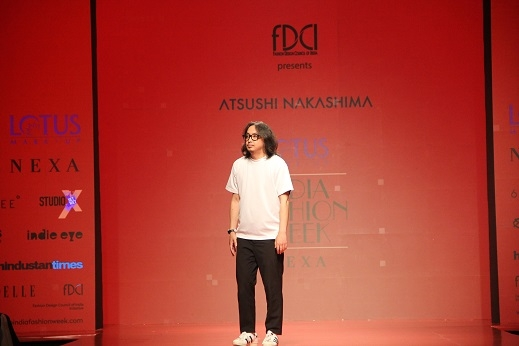 Japanese designer Atsushi Namashima impresses audience at Lotus Make